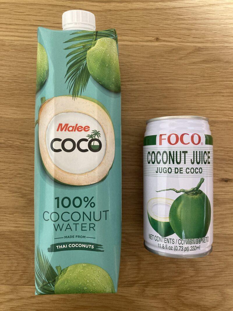 ココナッツウォーター・ジュース